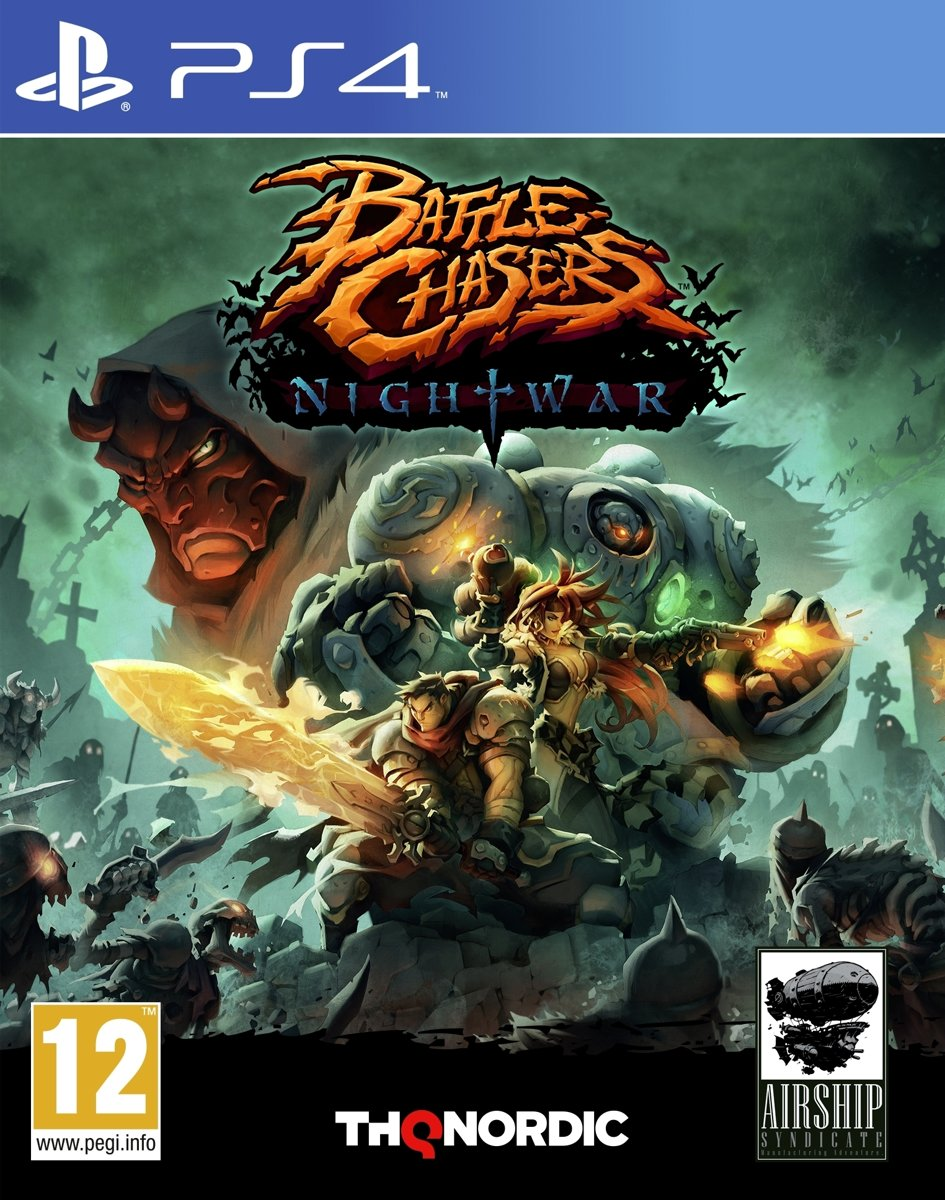 Battle Chasers - Nightwar PlayStation 4