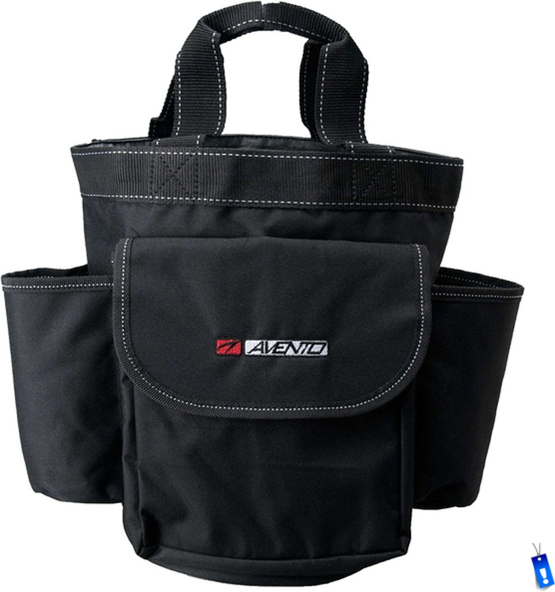 e33565eef9a Waterzak Sport Voetbal - Inclusief 2 Bidons en Spons - 22 x 32 cm - Zwart