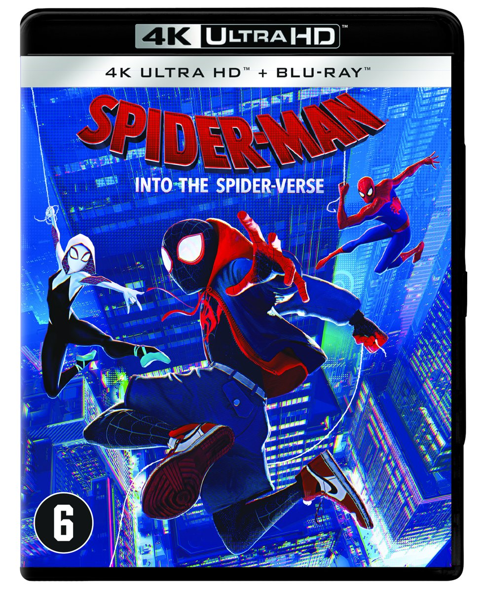 Spider-Man: Into the Spider-Verse (4K Ultra HD Blu-ray)-