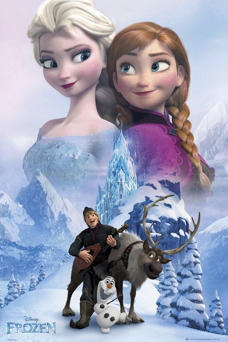 Disney Frozen Collage - Poster - 61x91,5 cm - Multi kopen