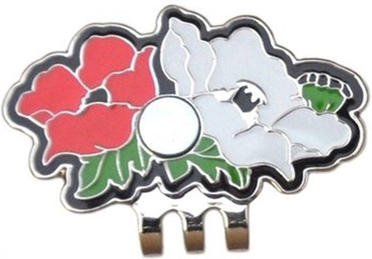 """Swarovski magnetische cap clip """"Flowers"""" kopen"""