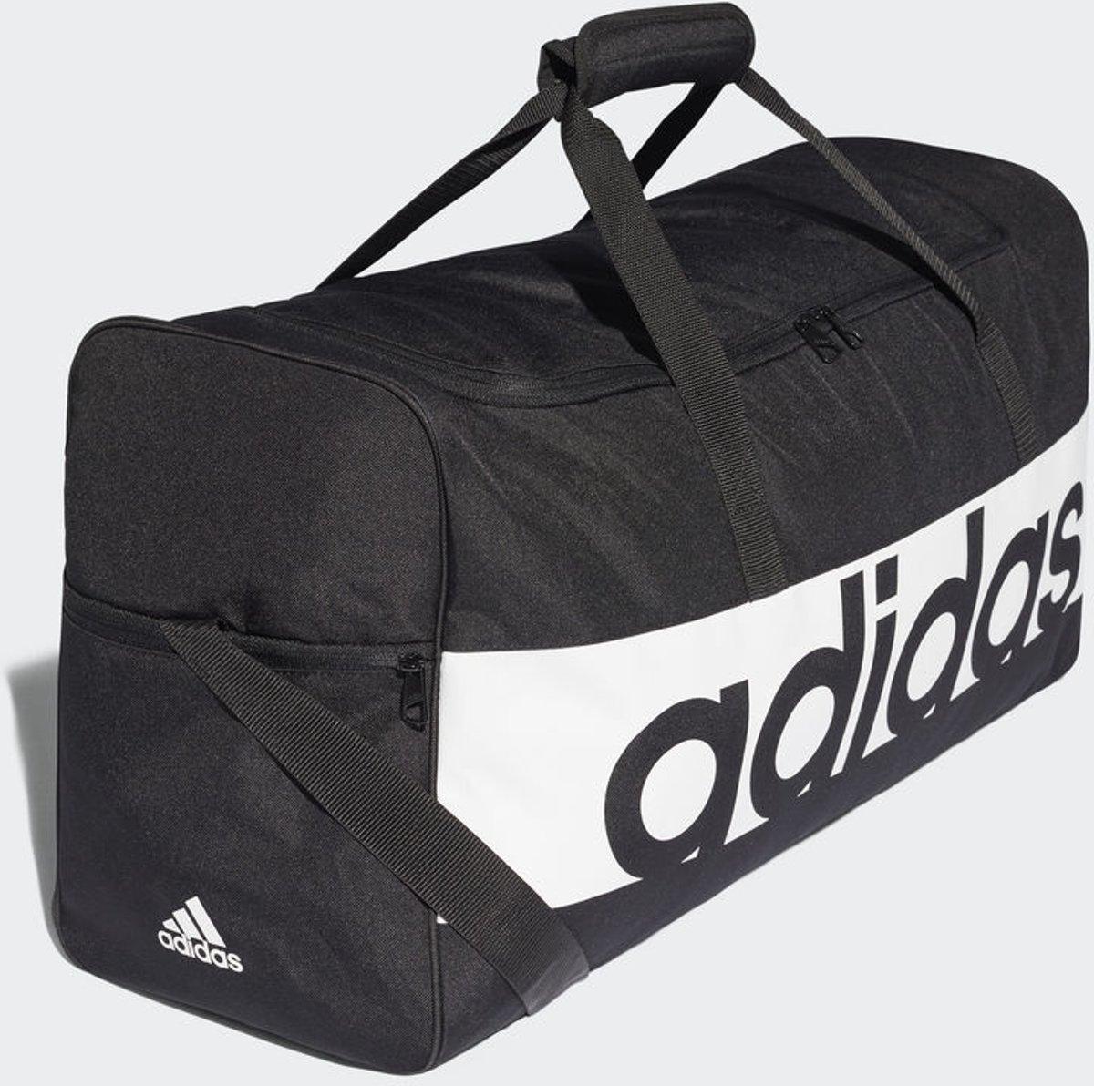 2ed8073dce6 bol.com | adidas Linear Performance Teambag L Sporttas Unisex -  Black/White/White