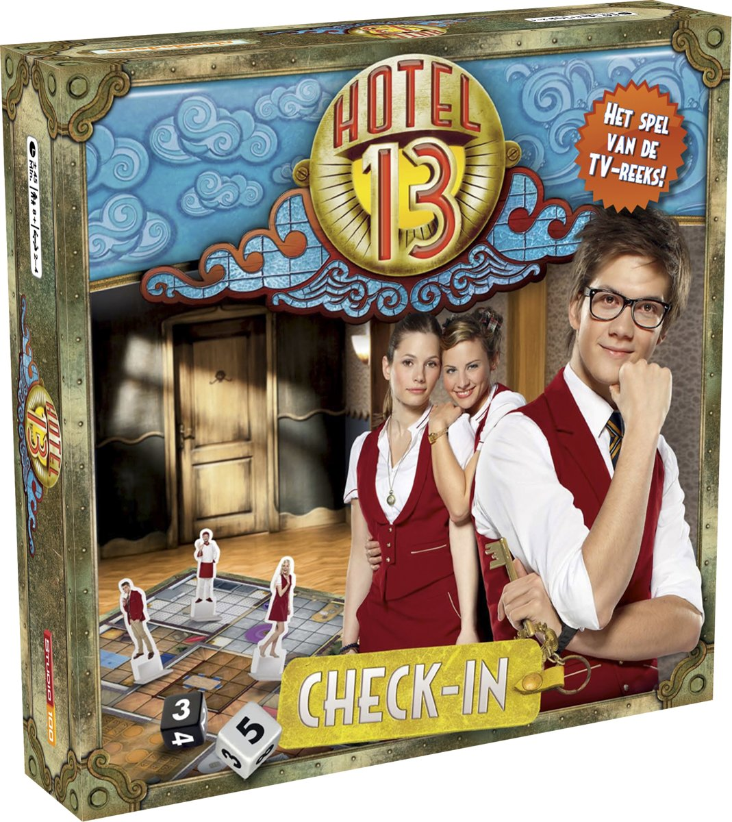 Hotel 13 Check in - Bordspel
