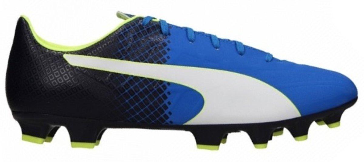 Puma Puma evoSPEED 5.5 FG Jr blauw voetbalschoenen kids (103629)