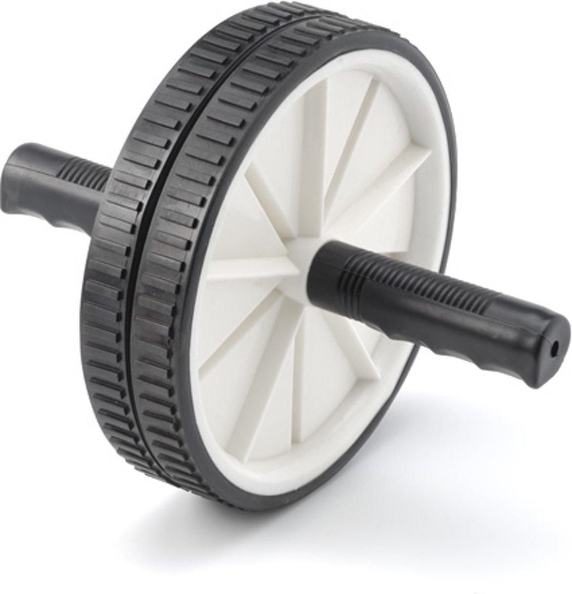 RS Sports Trainingswiel l Buikspiertrainer l Ab wheel l dubbele trainingswiel kopen