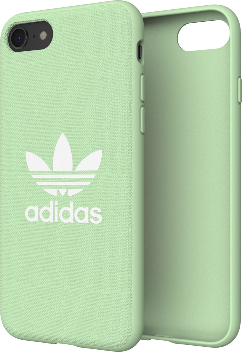 5a69103c756 bol.com | adidas OR Moulded Case CANVAS FW18 for iPhone 6/6S/7/8 clear mint