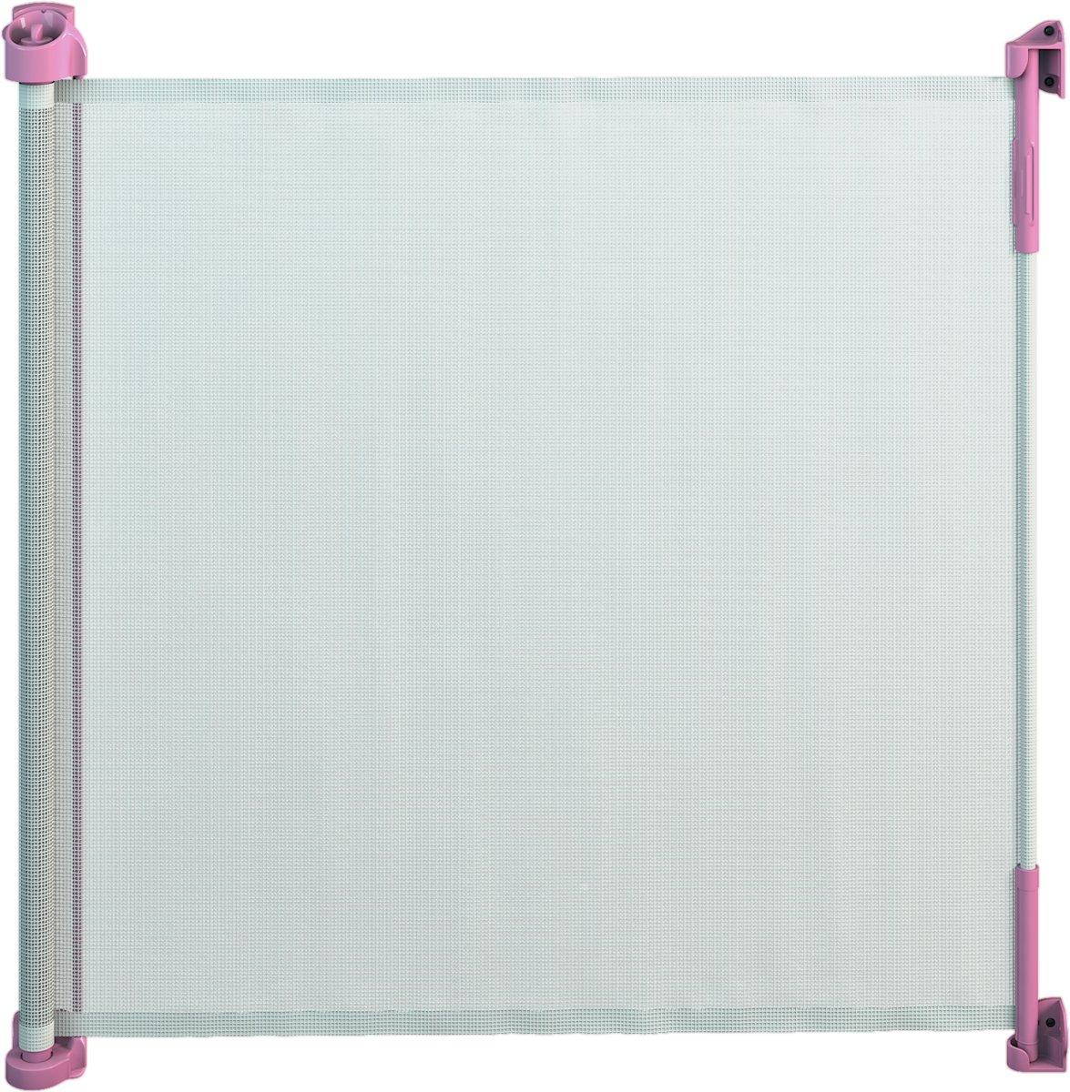 Gaterol Active Lite Roze – Uittrekbaar trap- en deurhekje Rollo, tot 140 cm