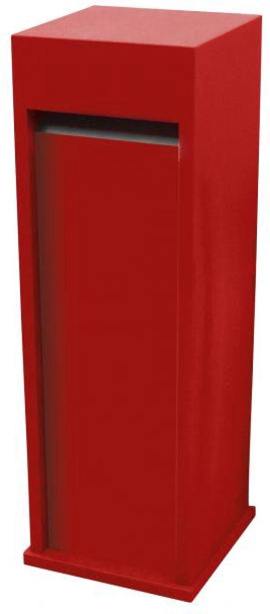 Brievenbus Rood