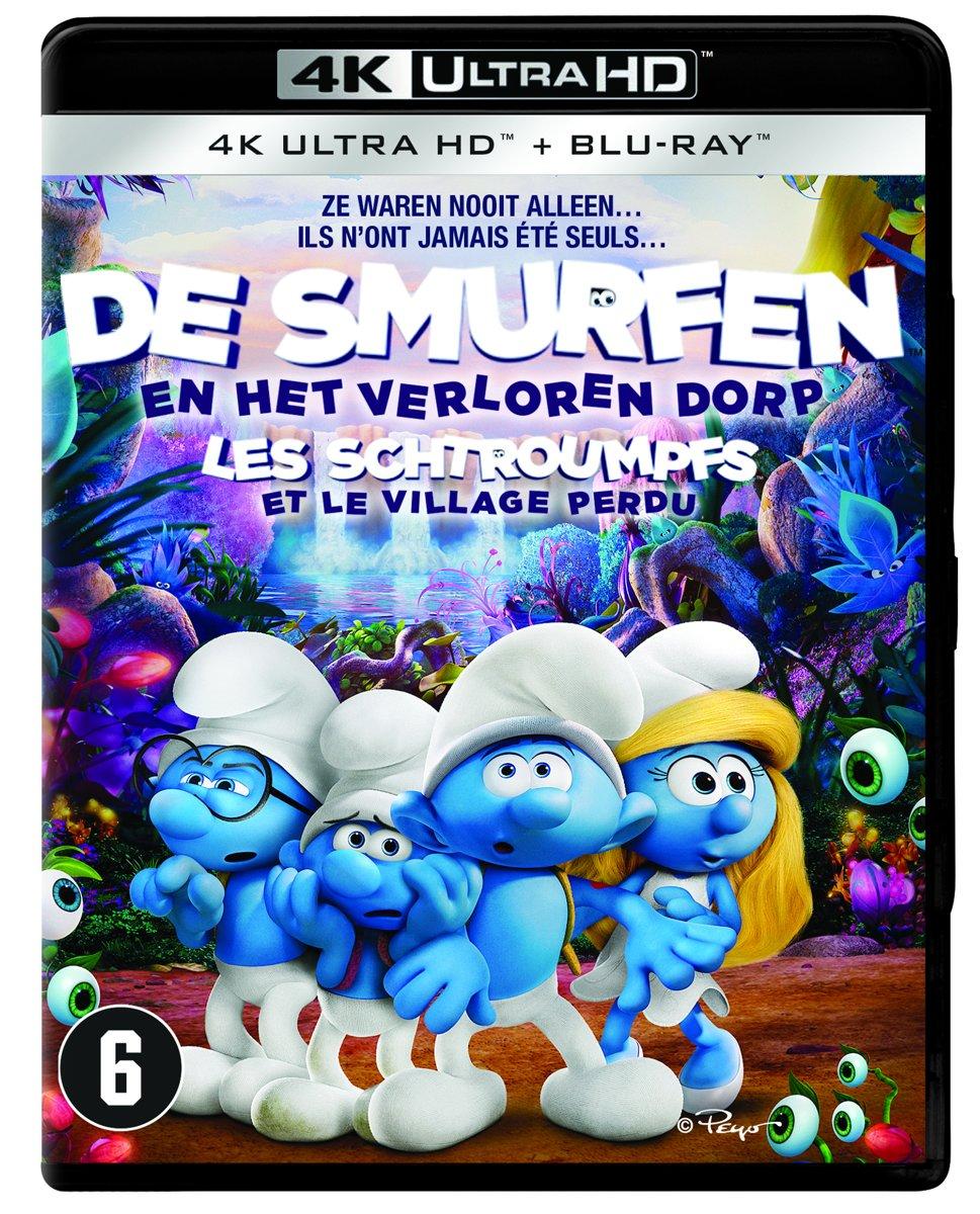 De Smurfen en Het Verloren Dorp (4K Ultra HD Blu-ray)-
