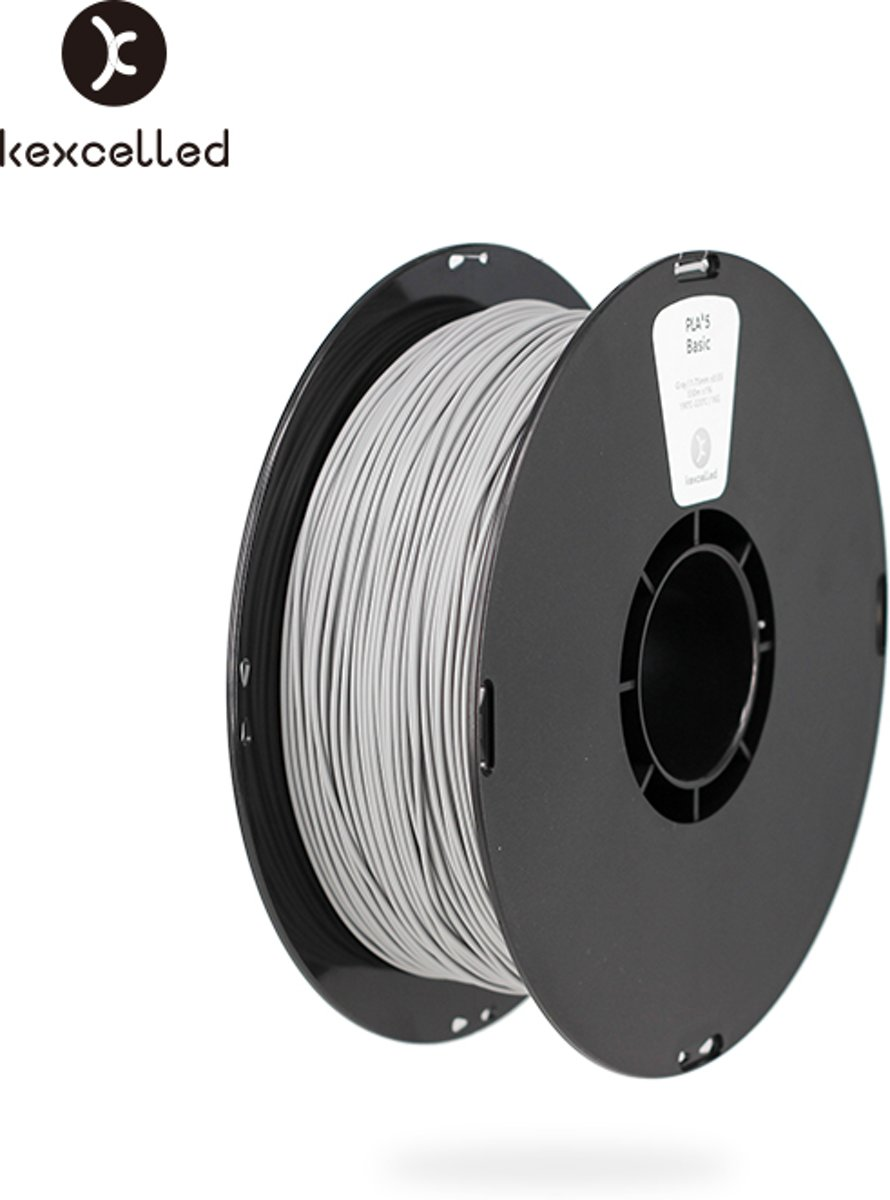kexcelled-PLA-1.75mm-grijs/gry-1kg(1000g)-3d printing