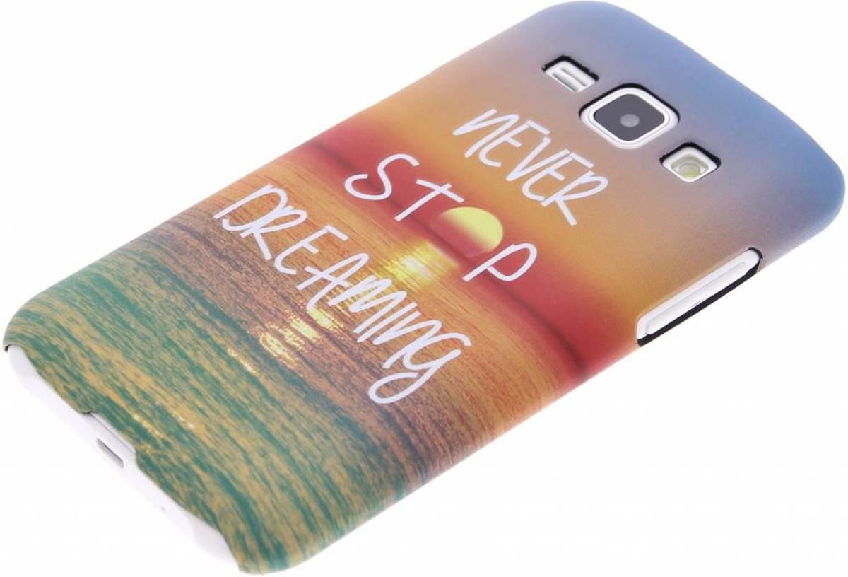 Rêve Étui En Silicone Tpu Design Pour Samsung Galaxy J1 13axMm6QeD