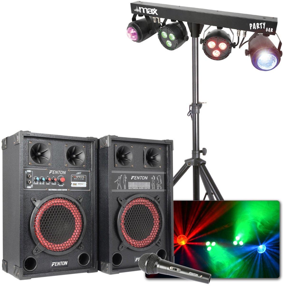 Oud & Nieuw Partyset XL met licht en geluid voor een groot feest kopen