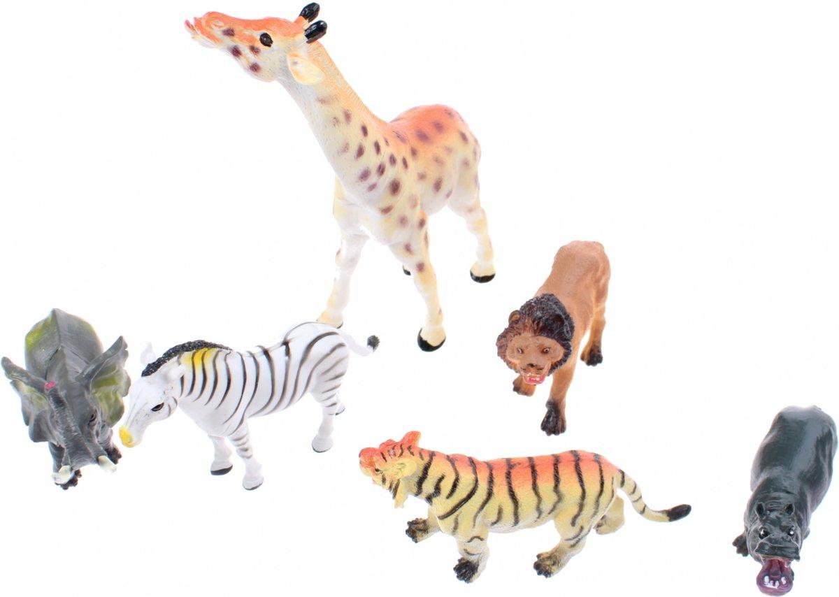 Johntoy Wilde dieren per 6 stuks kopen