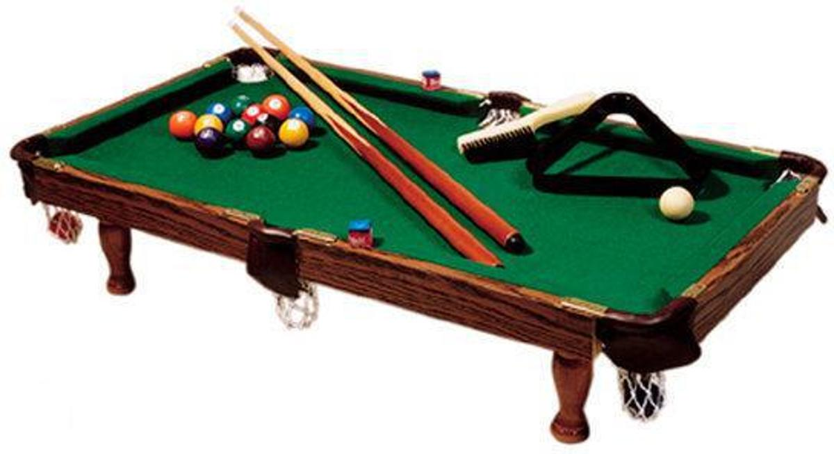 Buffalo Mini Pool Tafel - Explorer Deluxe