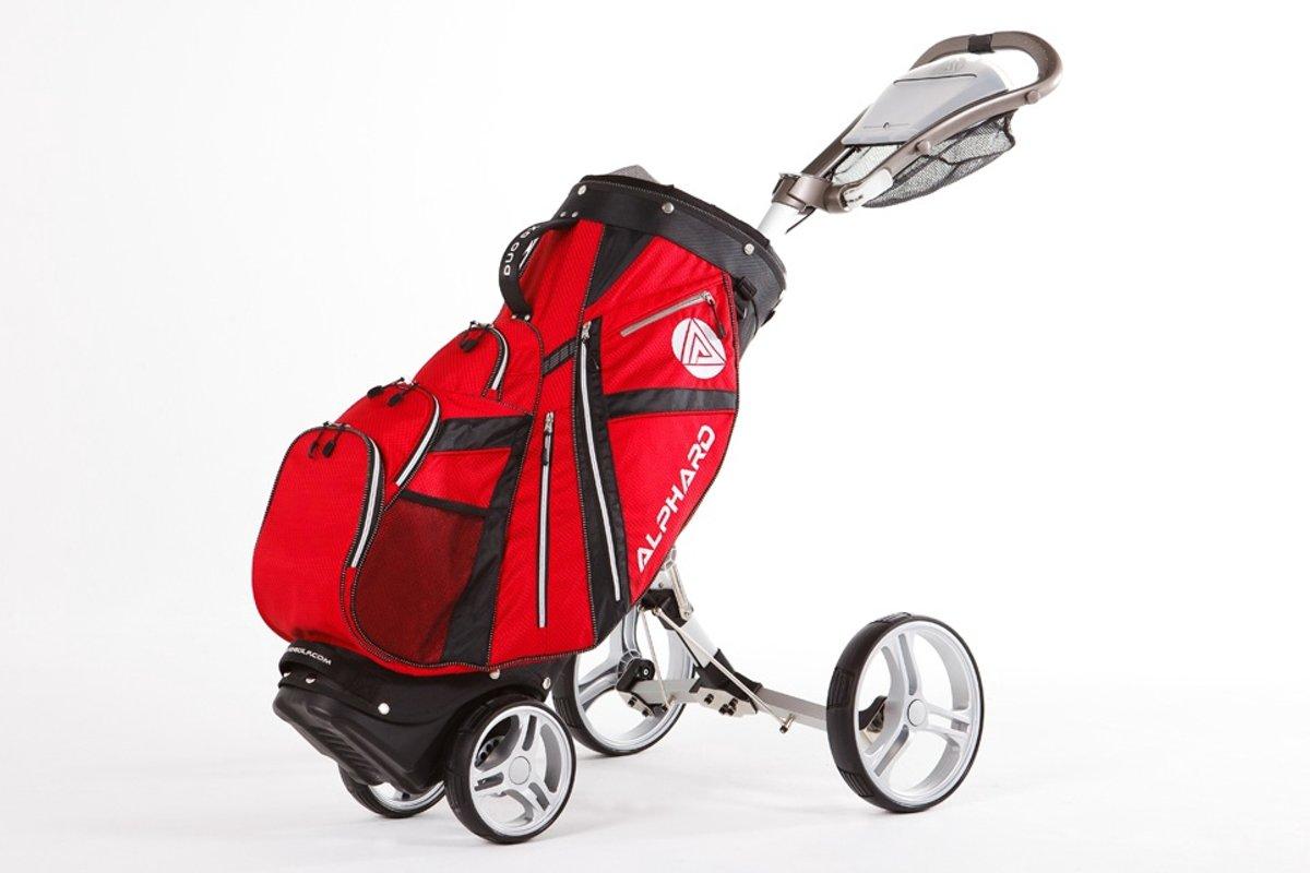 Alphard DX0000002 Golftrolley-Unisex-Maat--Rood kopen