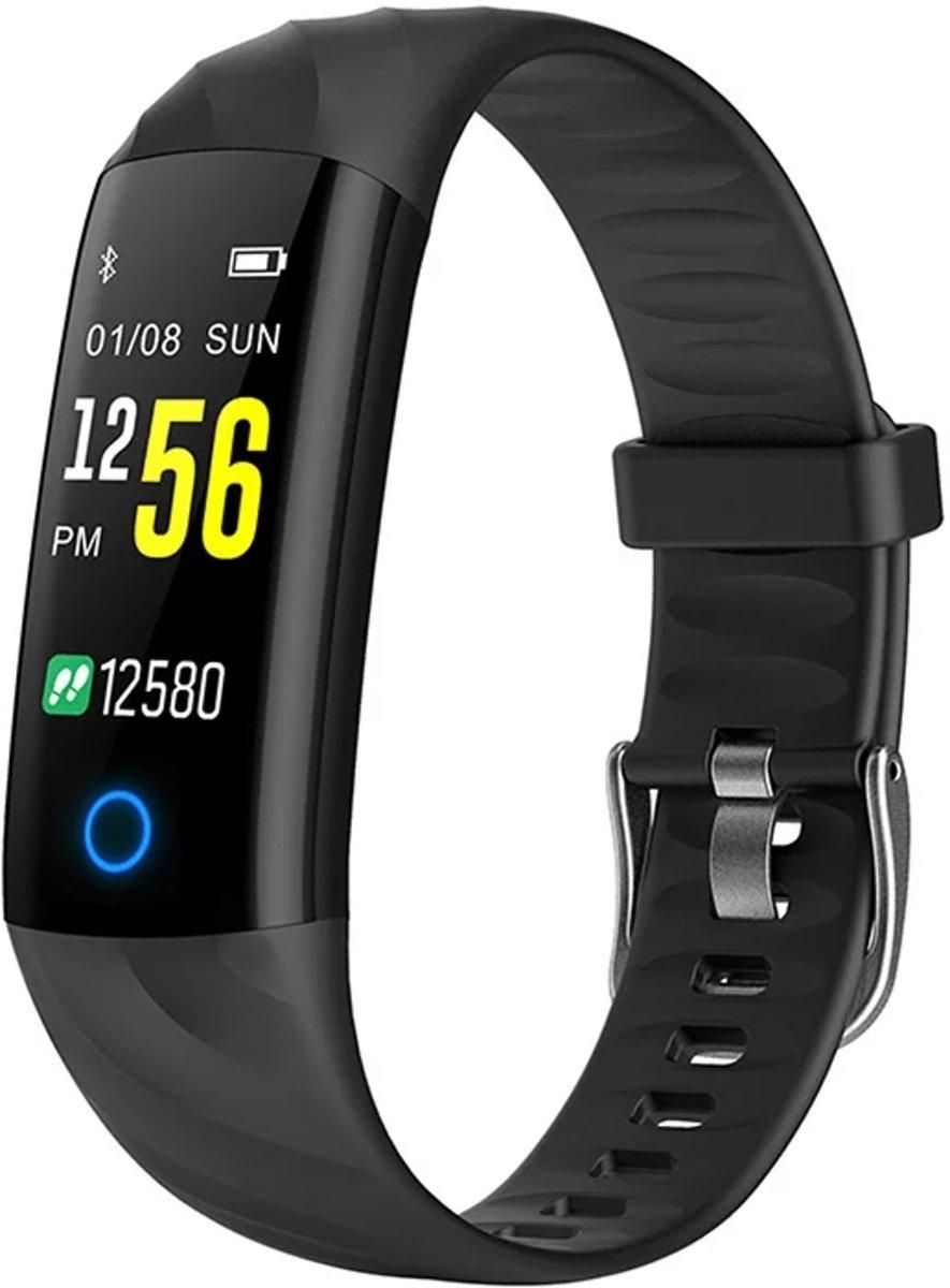 Activity Tracker - Fitness Monitor - Activiteit Tracker - Sporthorloge - Kleurenscherm - Hartslagmeter - Hartslagsensor - Stappenteller - Bloeddrukmeter - Zuurstofmeter - Alarm - Facebook / Twitter / SMS + Handleiding kopen
