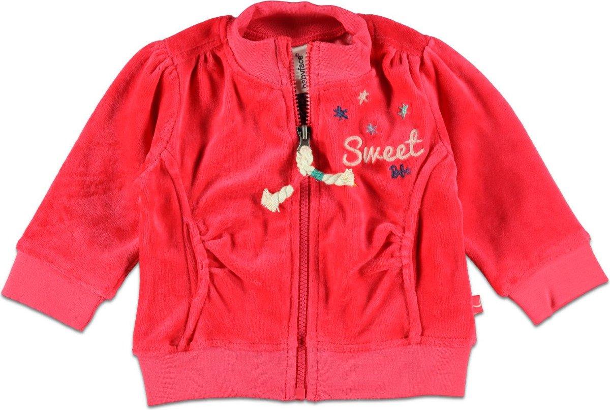 Babyface Meisjessweater - Rood - Maat 62