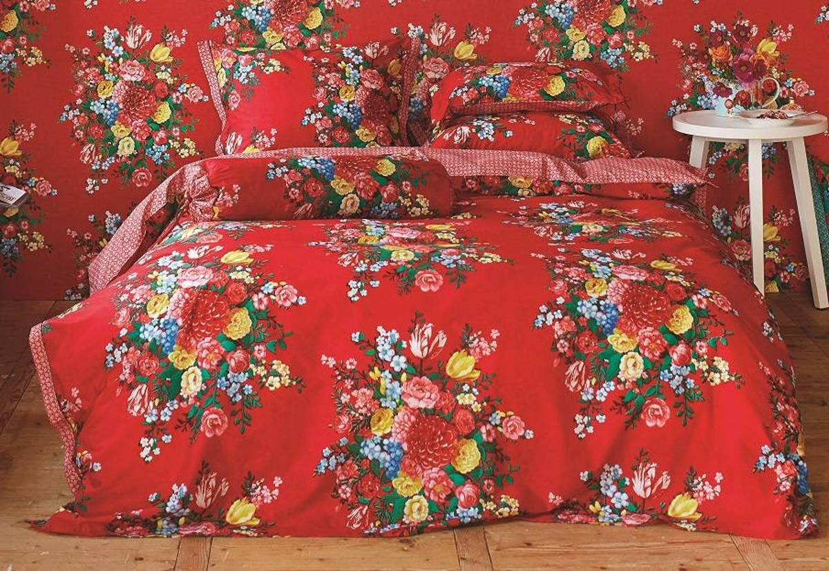 Bol pip studio dutch painters sierkussen rood