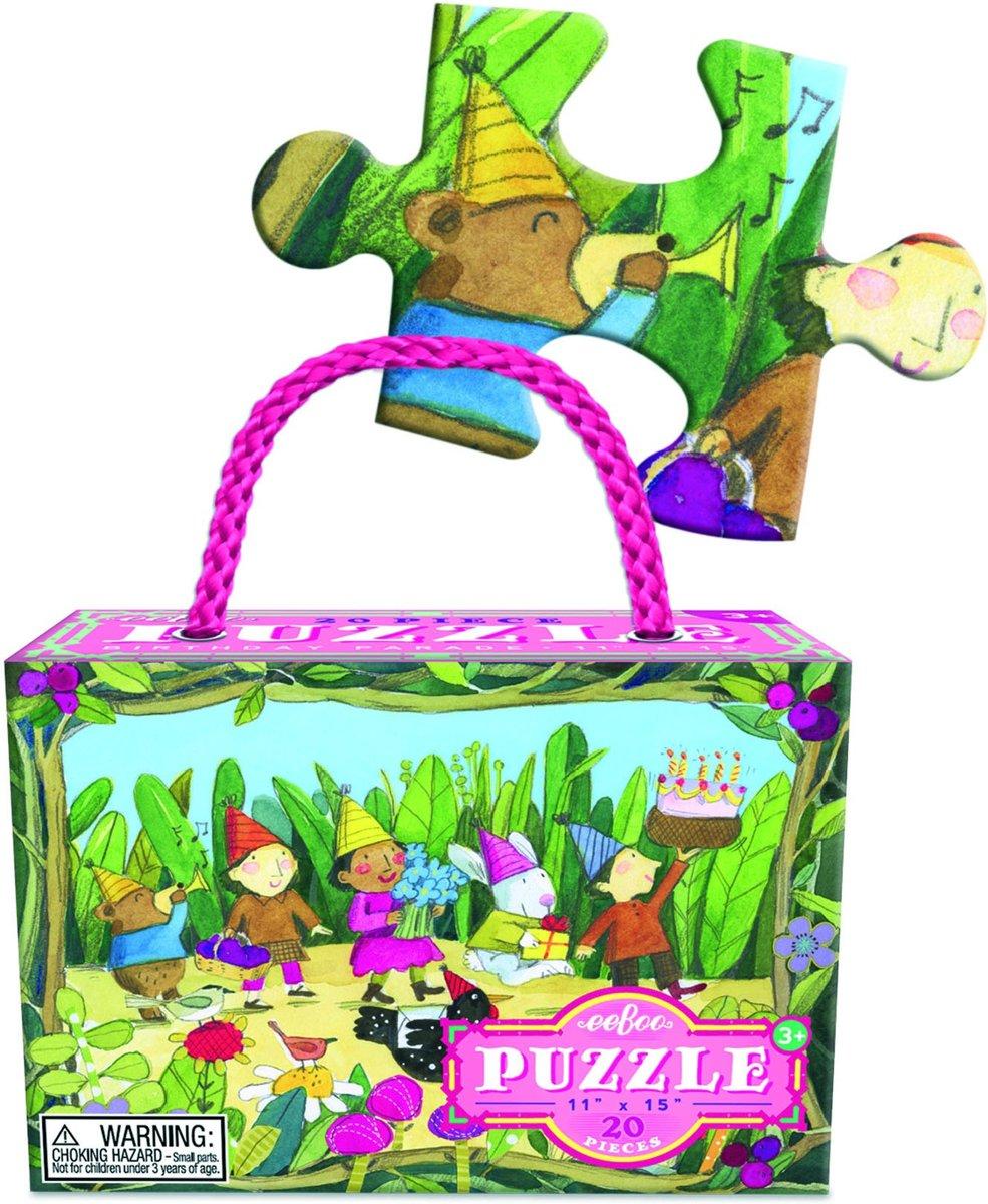 Eeboo Puzzel birthday parade 20 stukjes kopen