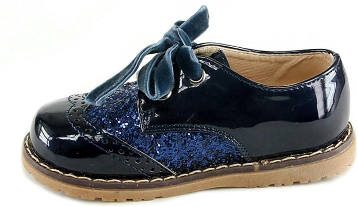 La Taille De La Chaussure De Paillettes Bleues 20 N68wOXbKRD