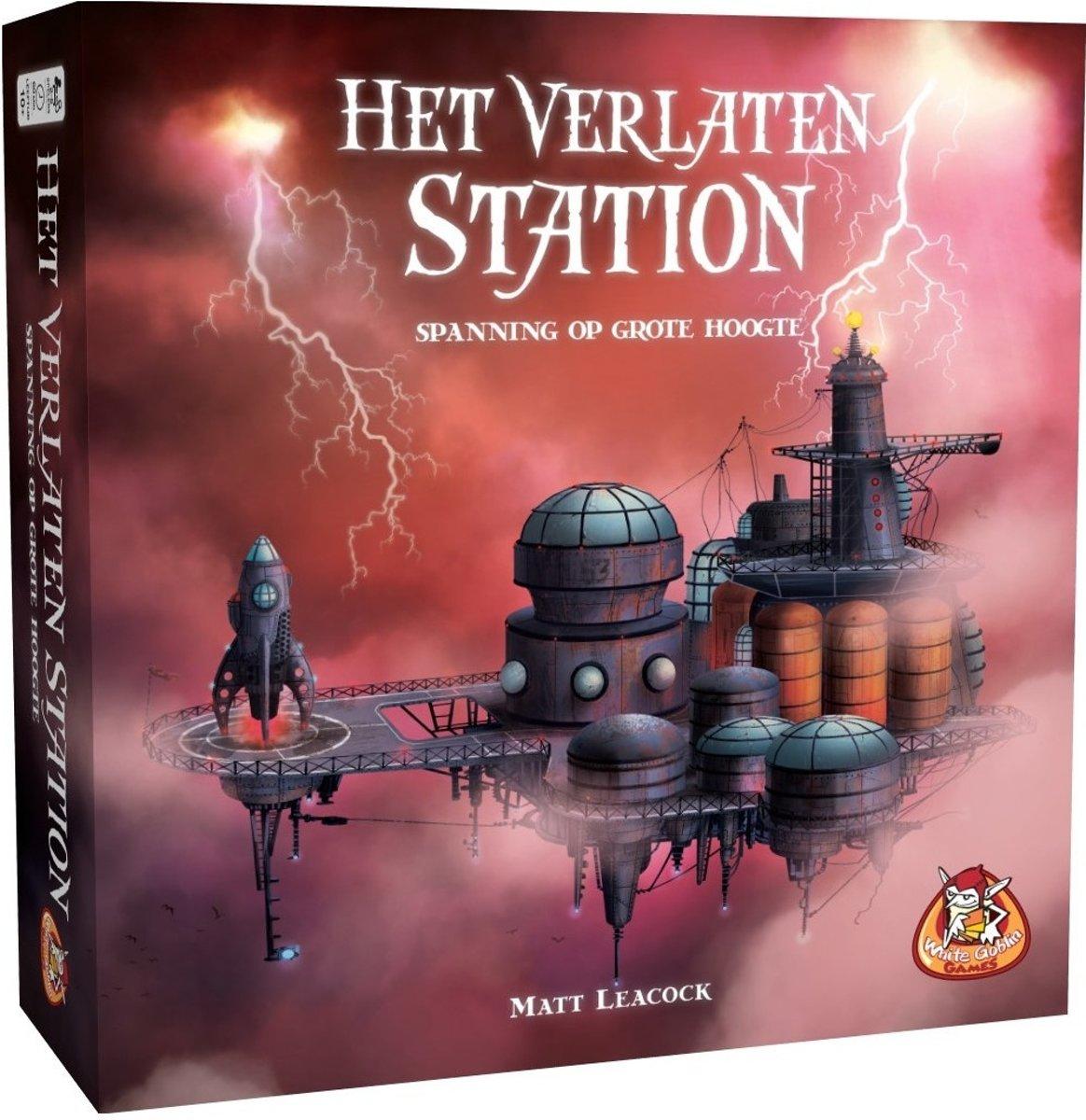 White Goblin Games Gezelschapsspel Het Verlaten Station