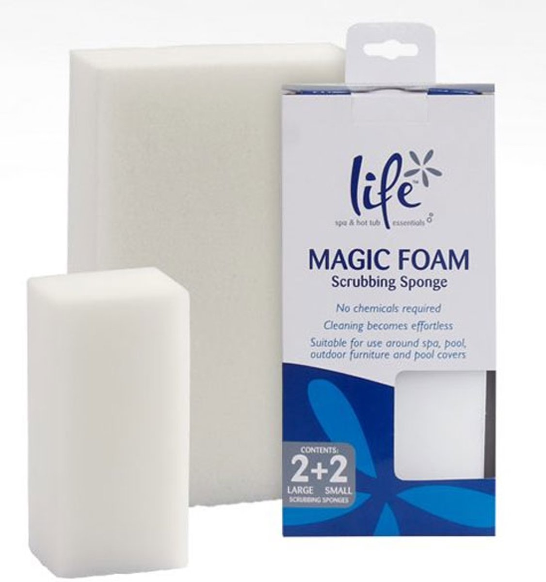 Life Magic foam spons (set/4)