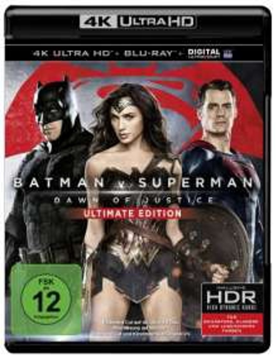 Batman vs. Superman: Dawn of Justice (4K Ultra HD Blu-ray) (Import)-