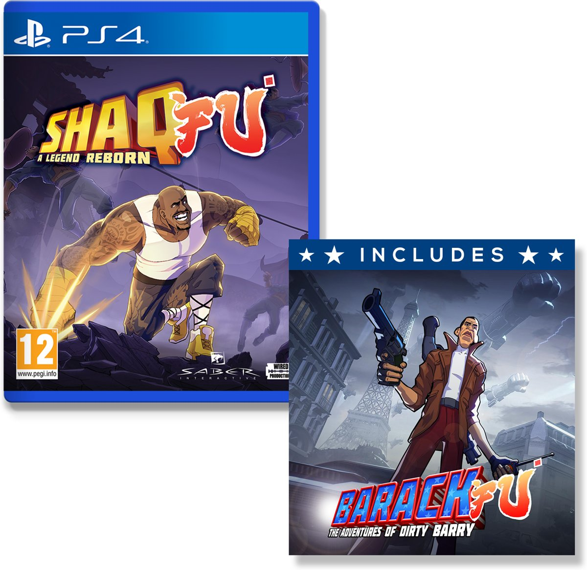 Shaq Fu - A Legend Reborn PlayStation 4