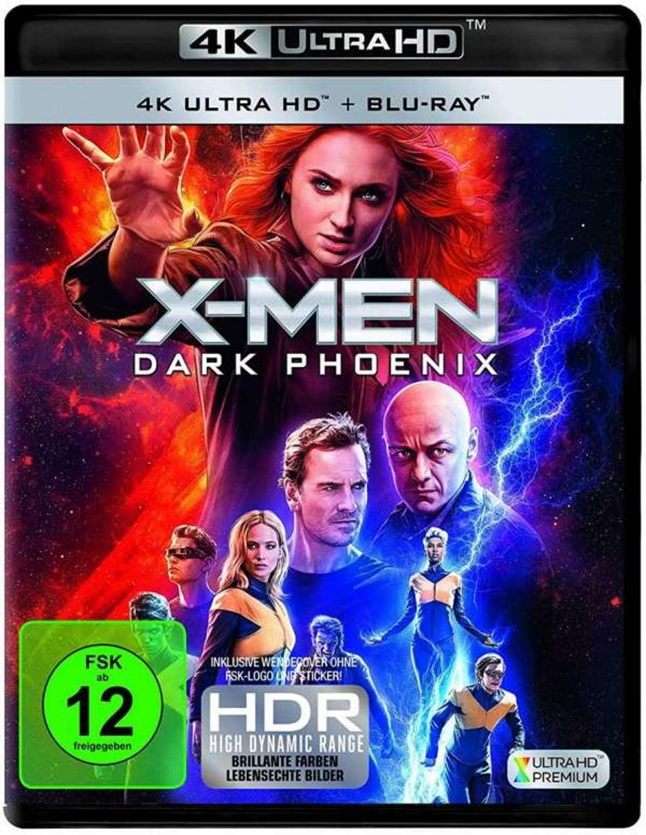 X-Men: Dark Phoenix (Ultra HD Blu-ray & Blu-ray)-