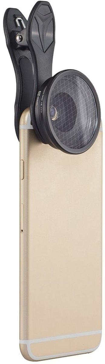 Apexel APL-25MM 25mm 20X super macrolens met sterfilter voor mobiele telefoon tabletfotografie kopen