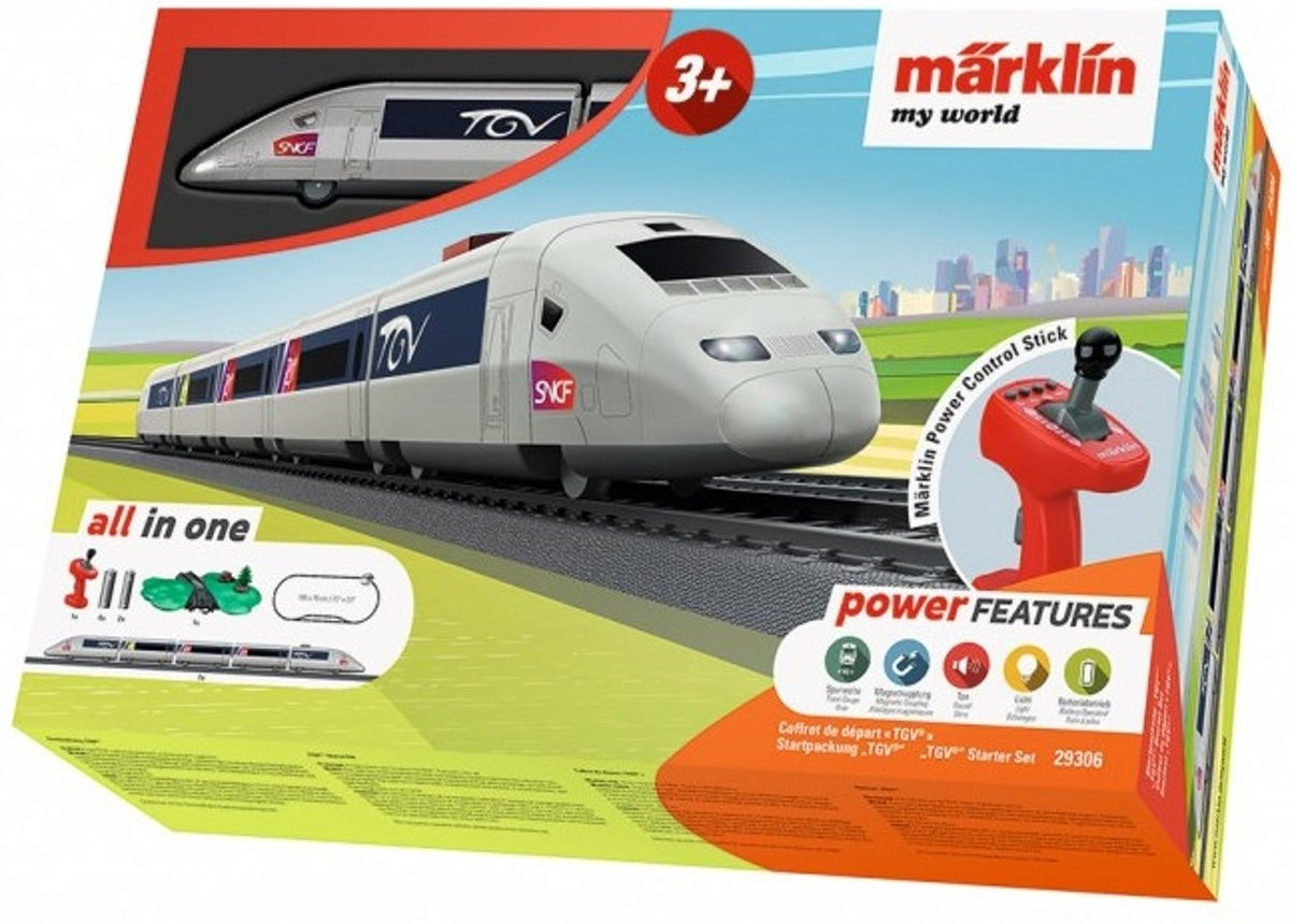 Märklin My World Startset TGV - 29306 kopen
