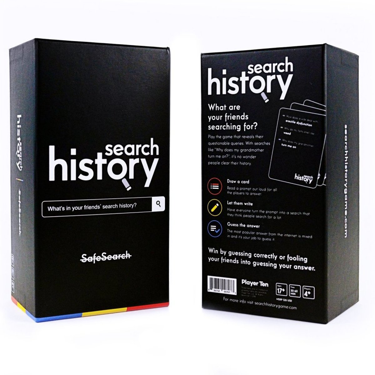 Search History NSFW Party Game