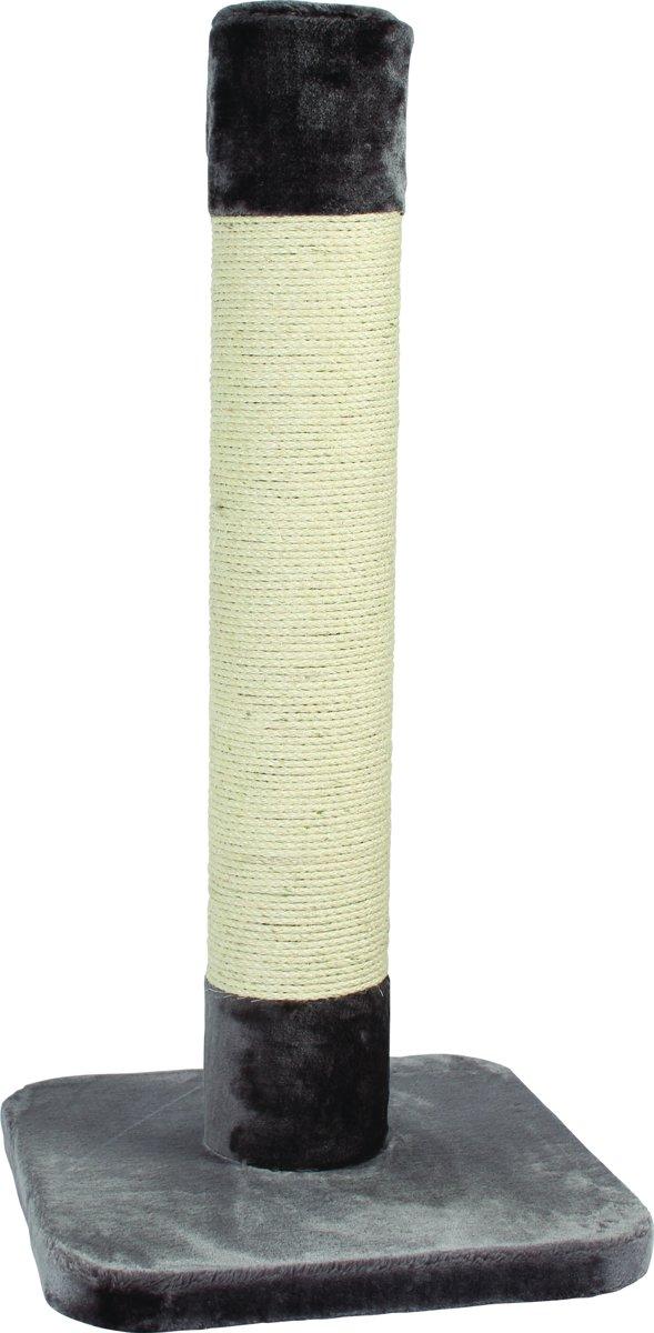 Duvo+ Krabpaal Trump Tower - Krabpaal - 56 cm x 56 cm x 120 cm - Grijs