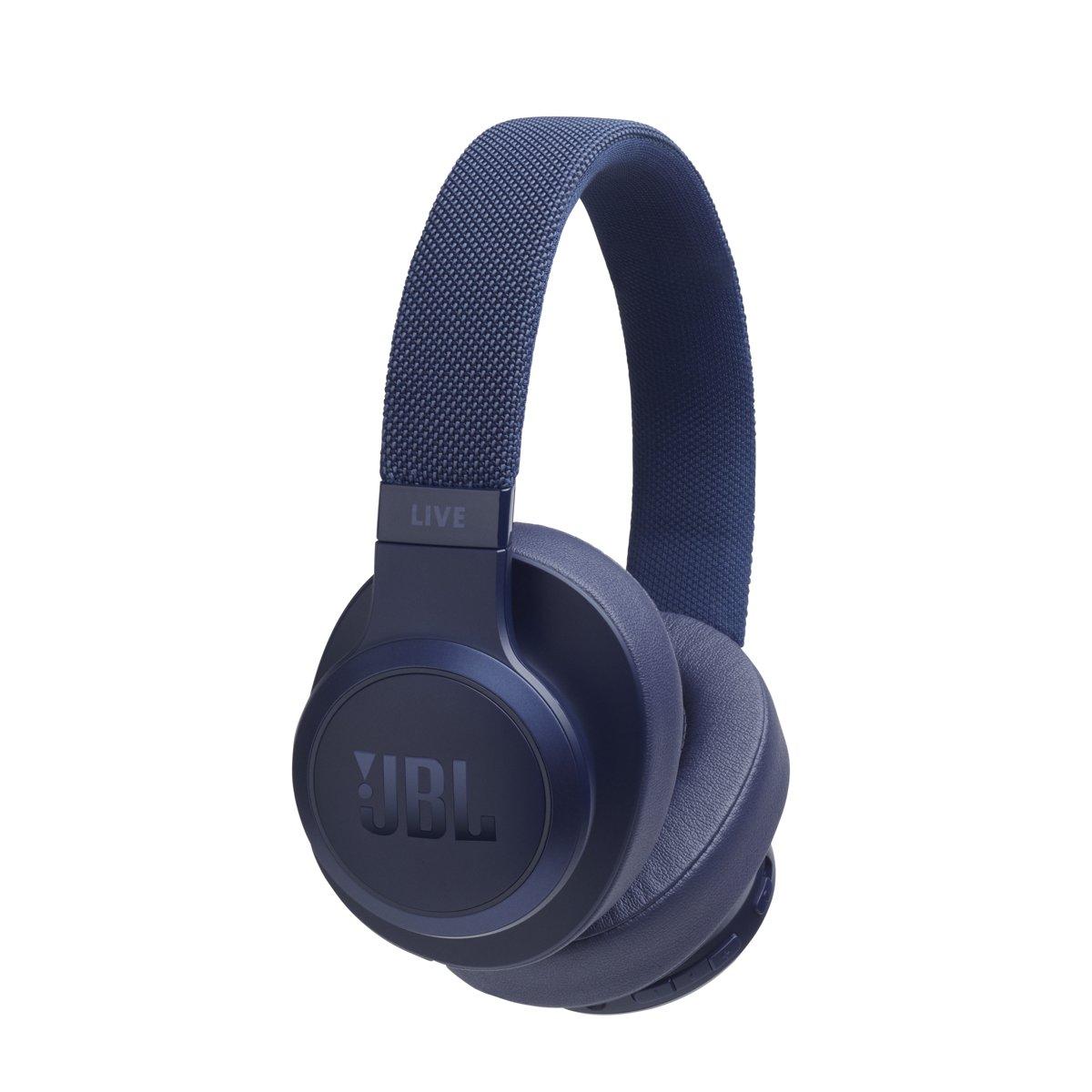 JBL Live 500BT - Over-ear bluetooth koptelefoon - Blauw kopen