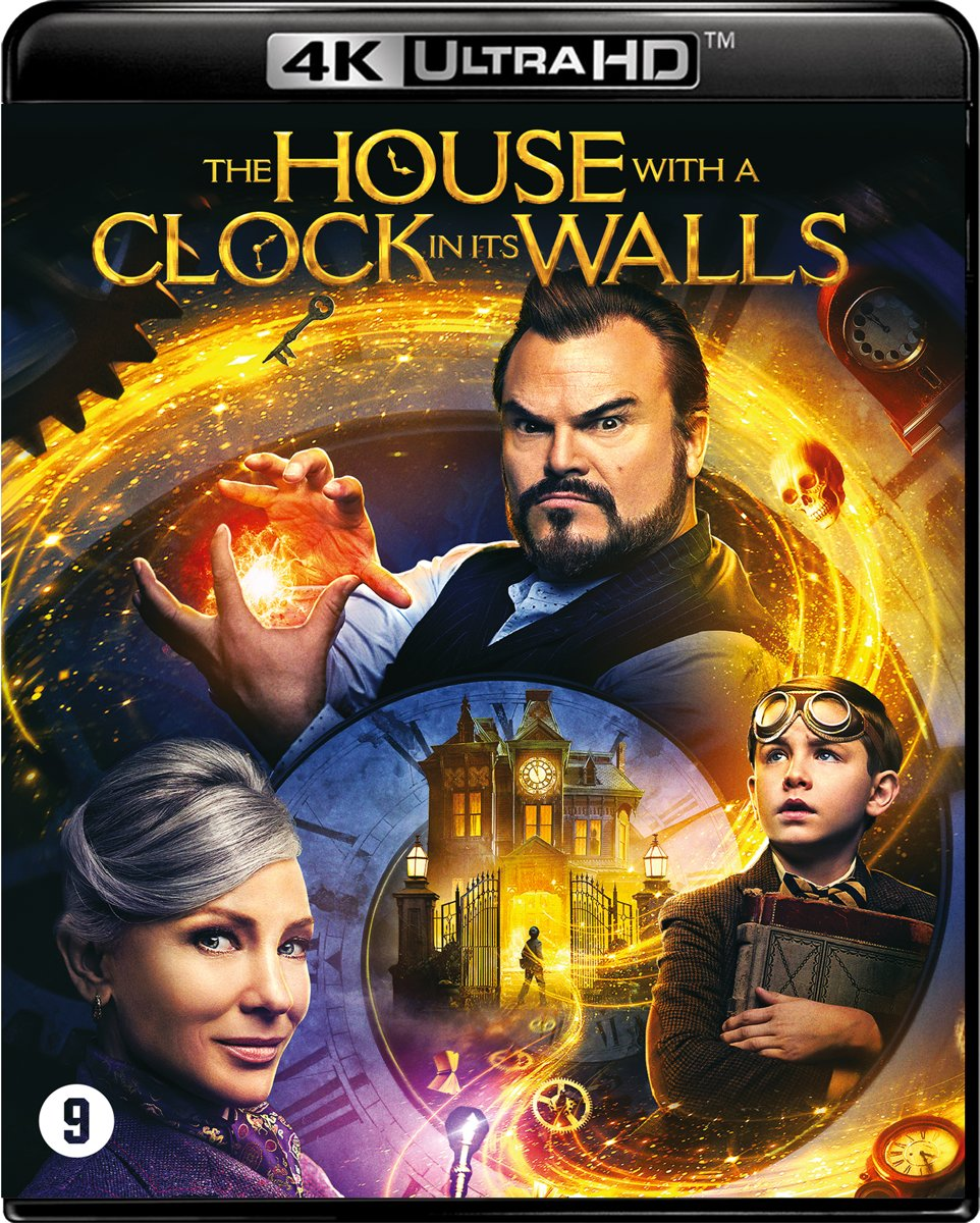 The House With a Clock in its Walls (4K Ultra HD Blu-ray)-