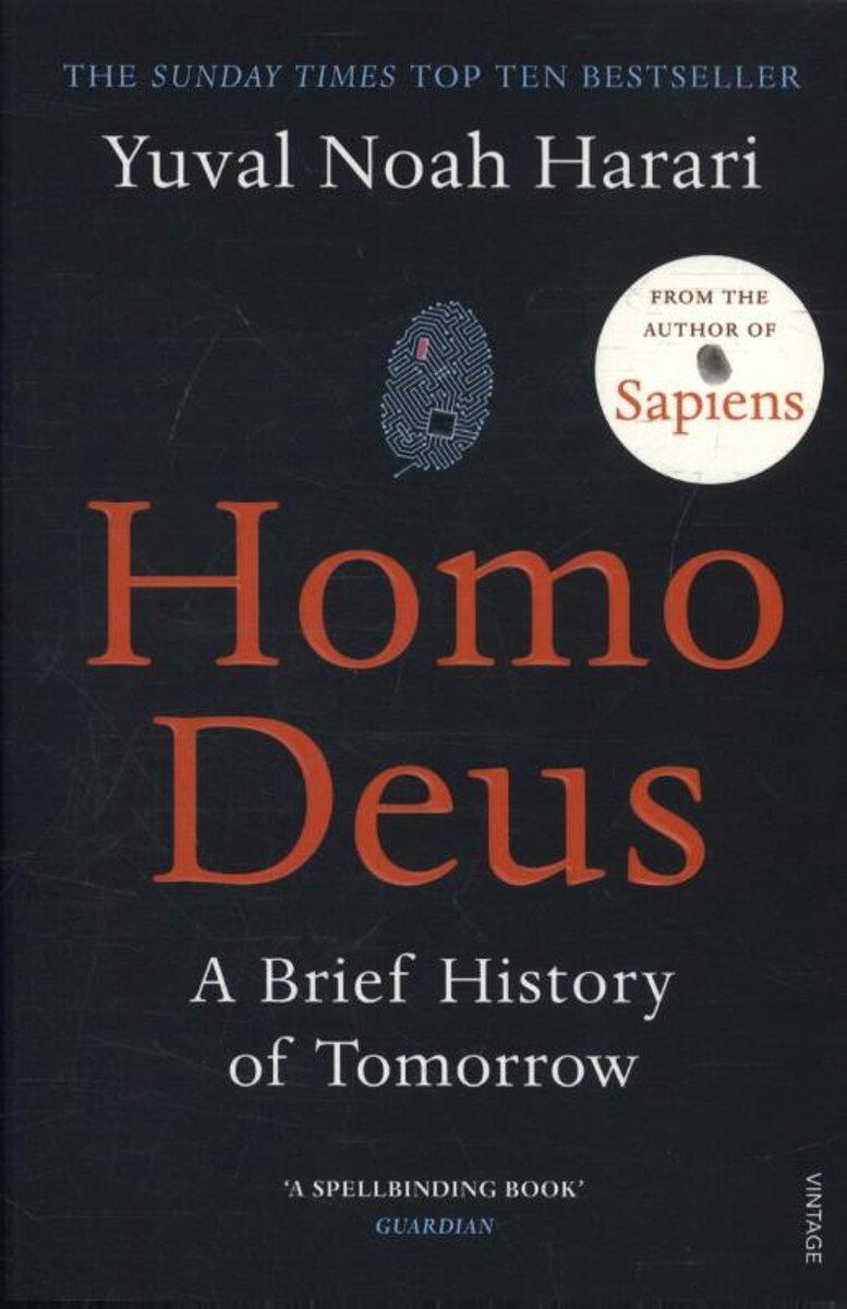 Afbeelding voor Homo Deus [Engelstalig]