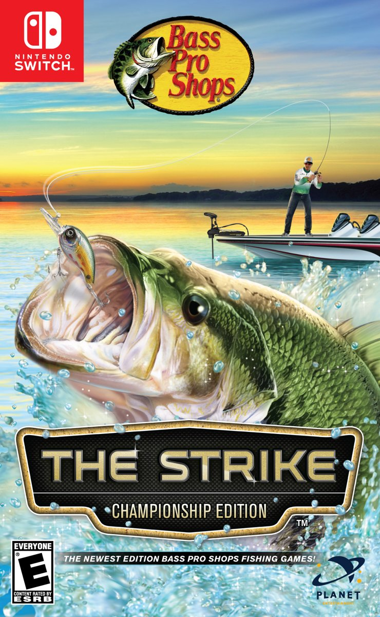 Bass Pro Shops The Strike + Vishengel accessoire Switch