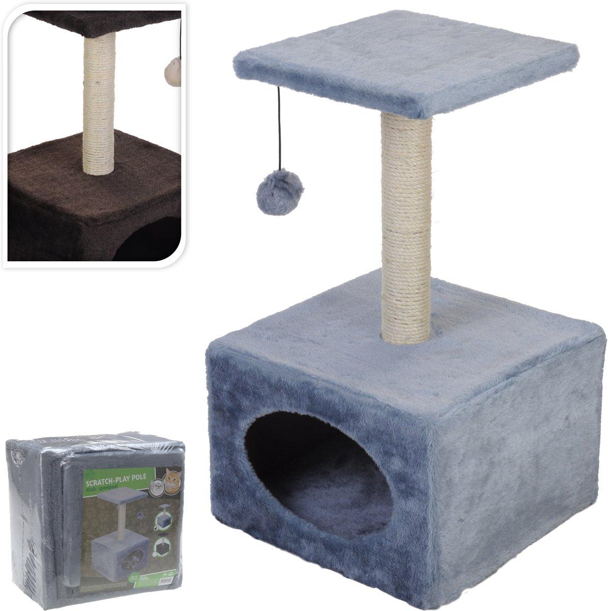 Kattenspeeltoren - Bruin