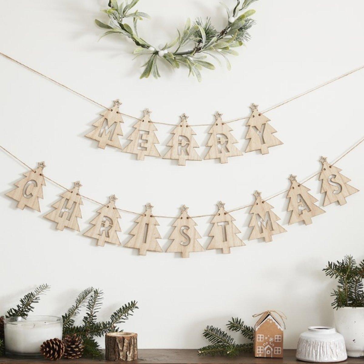 Let it Snow – Slinger kerstboom Merry Christmas kopen