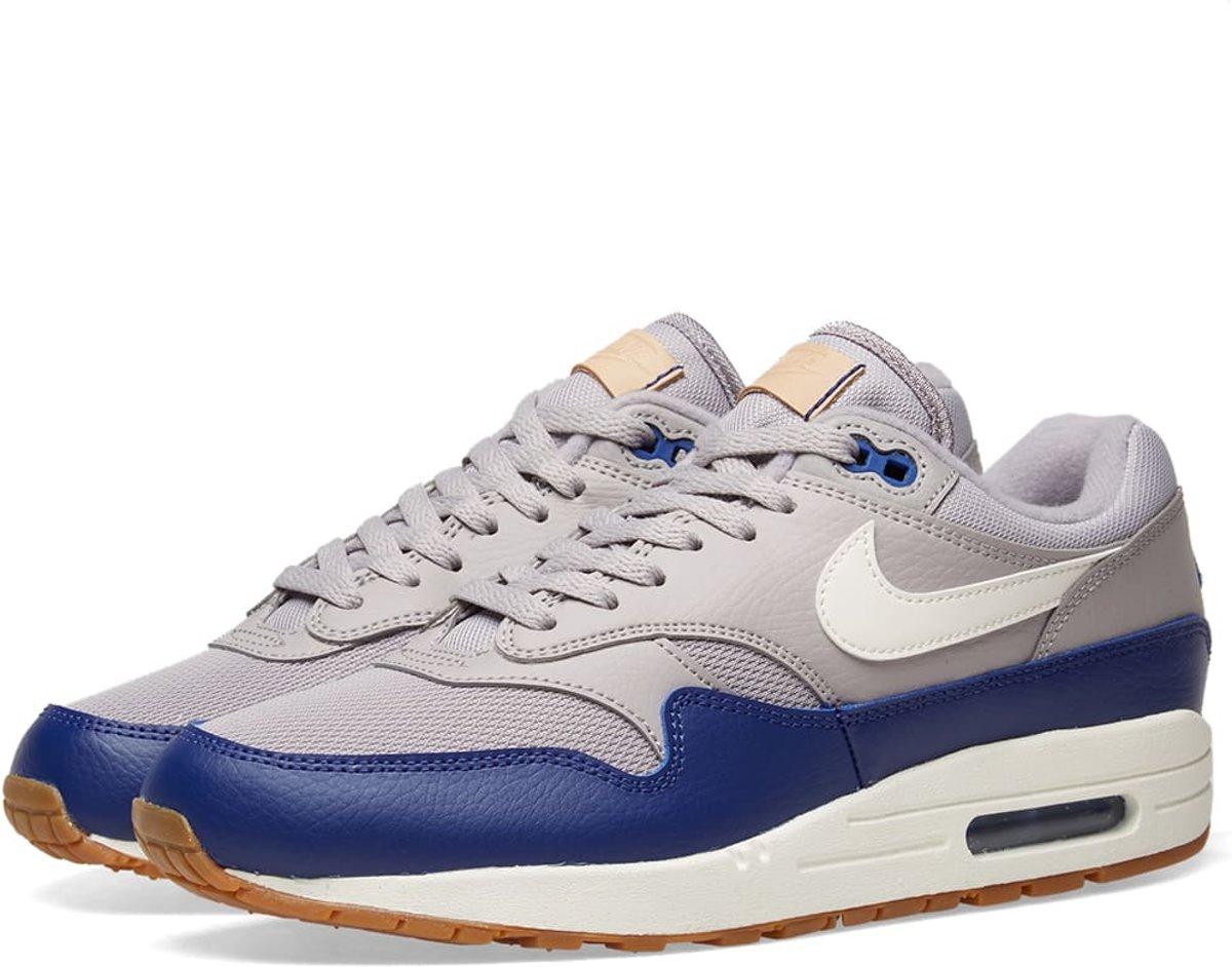 Nike Air Max 1 Sneakers Heren GrijsBlauw AH8145 008