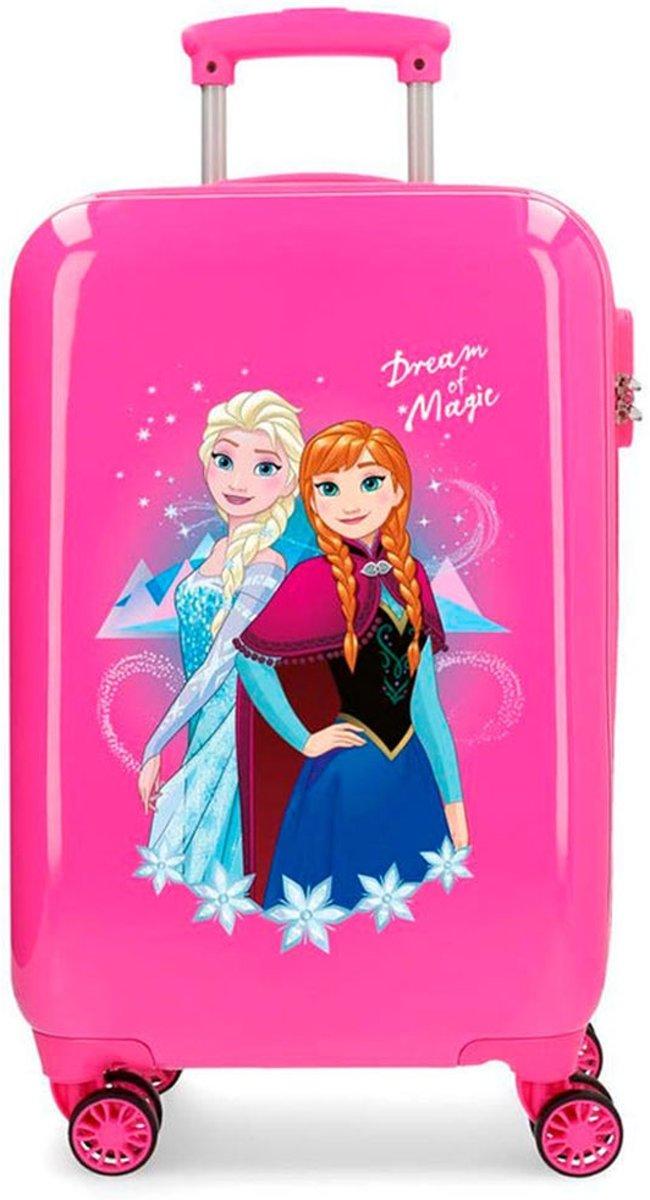 Disney Trolley 55 Cm 4 Wheels Frozen II Dream Of Magic Pink kopen