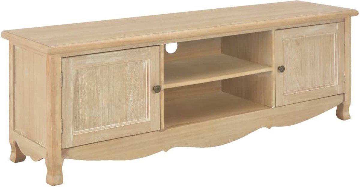 Tv-meubel 120x30x40 cm hout (incl. anti-krasvilt) kopen