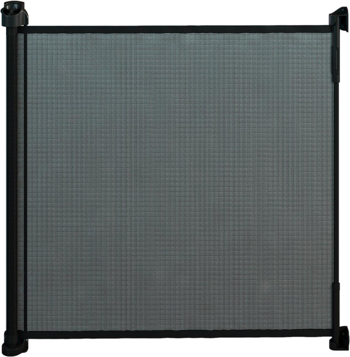 Gaterol Active Lite Zwart – Uittrekbaar trap- en deurhekje Rollo, tot 140 cm