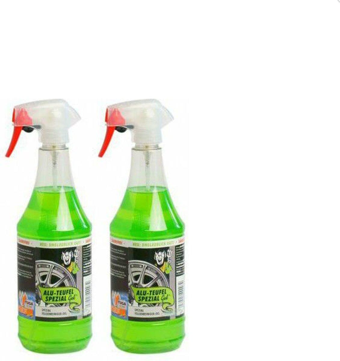 Foto van velgenreiniger aluduivel zuurvrij 2 flessen de echte ...