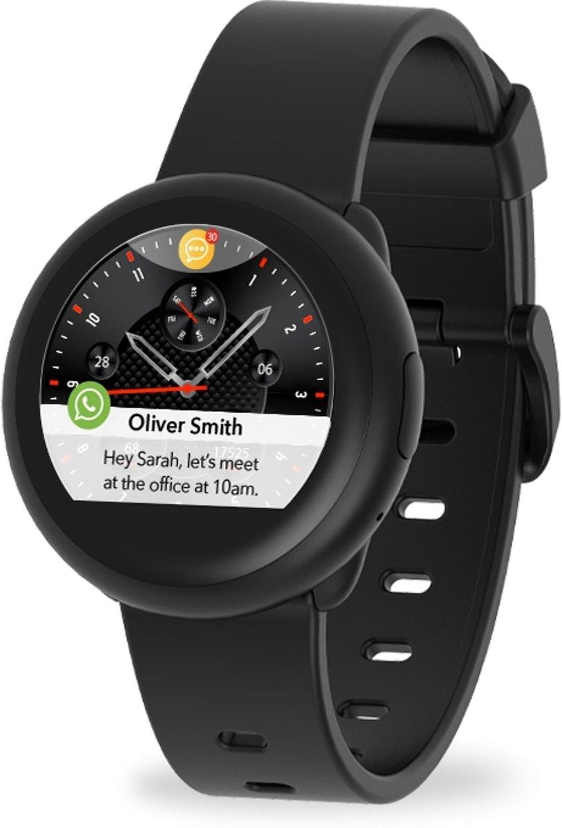 MyKronoz smartwatch ZeRound3 lite - zwart/zwart kopen