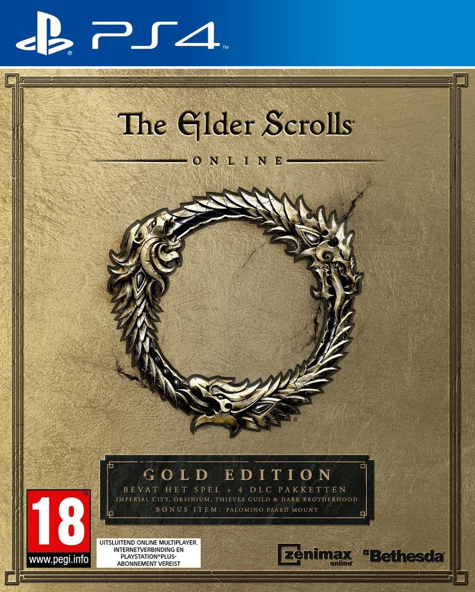 The Elder Scrolls Online Tamriel Unlimited - Gold Edition PlayStation 4