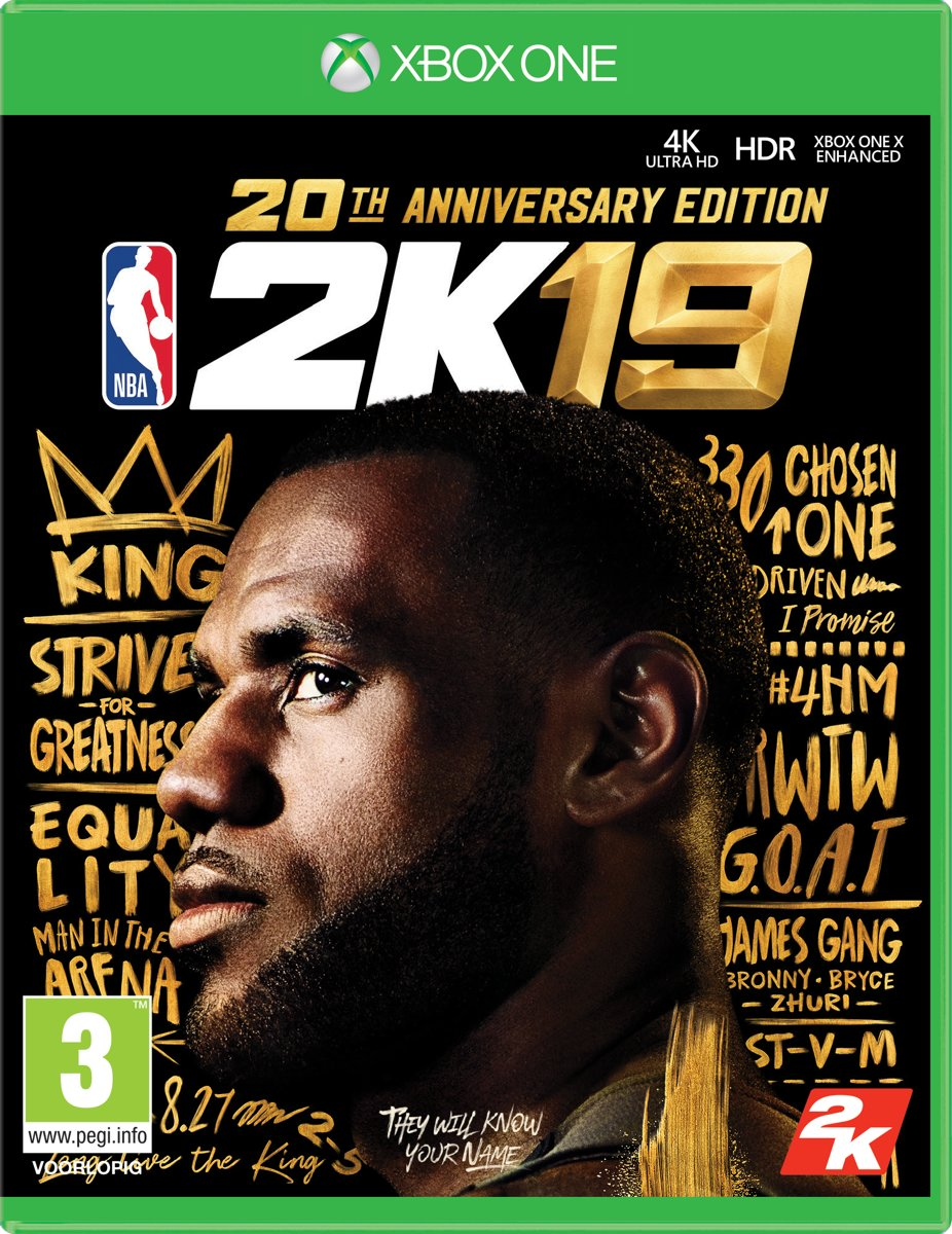 NBA 2K19 - Anniversary Edition Xbox One