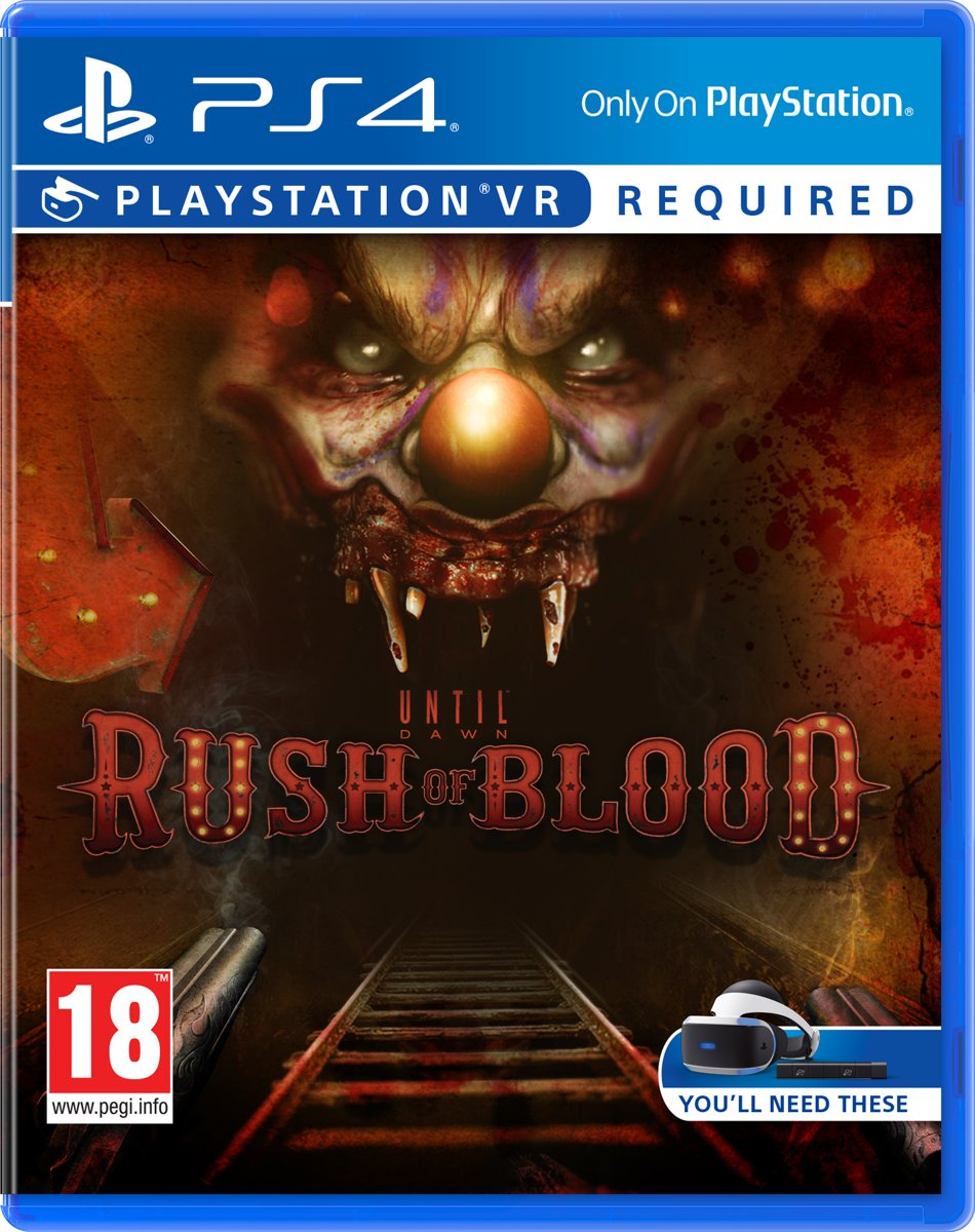 Until Dawn: Rush of Blood - VR PlayStation 4
