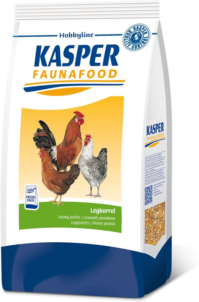 Kasper Faunafood Hobbyline Legkorrel - 4 KG
