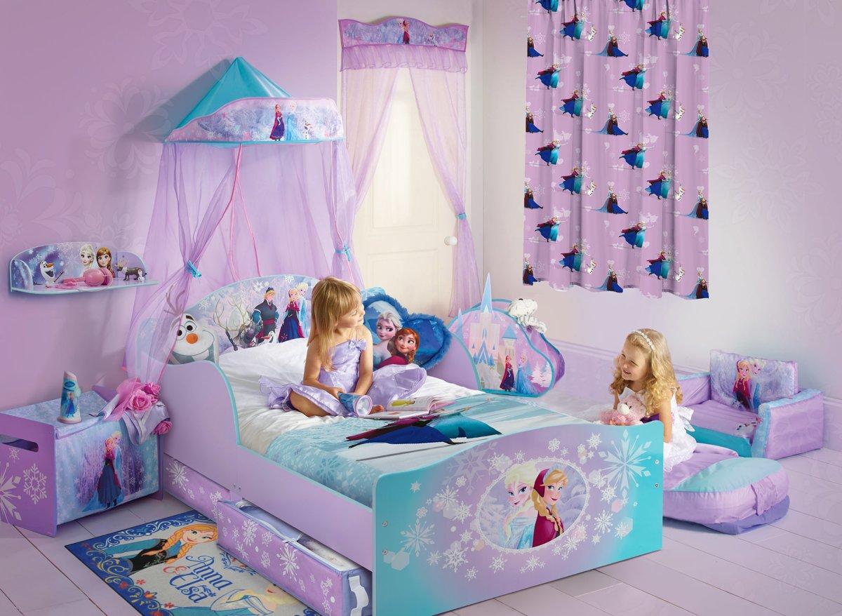 bol.com | Disney Frozen Gordijn - 140x250 cm - Per stuk